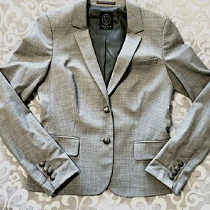 Talula Aritzia Blazer light gray Size 4 Wool